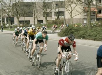 afbeelding wielrenners